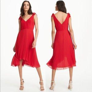 Club monaco jessany red dress